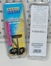 Modelcraft 3 Negro Cerdas Rueda Pinceles PBU21213 Dremel Etc