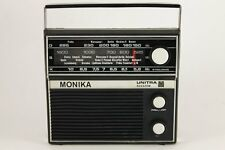 1973 Vintage MONIKA UNITRA MOT 722 Transistor Radio Poland