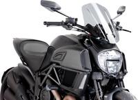 PUIG  Naked Bike Windscreen Light Smoke Touring Ducati Diavel  7570H