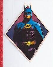 BATMAN 1989 Dc Comics Tm italy  plastic sticker - adesiva plastica nuova