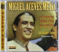 MIGUEL ACEVES MEJIA - CANCIONES POPULARES   CD NEW+