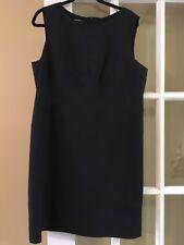 Stunning Marc Aurel Shift Dress Size 44 NAVY