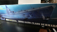 Revell FACTORY SEALED WWII Gato Class Submarine 1:72