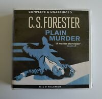 Plain Murder - by C. S. Forester - Unabridged  Audiobook - 6CDs