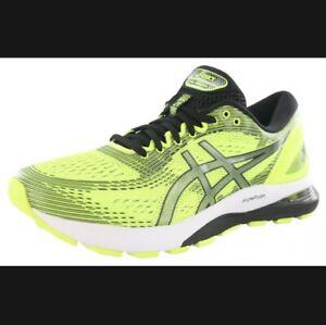 Asics Gel-Nimbus 21 Safety Yellow Black Mens Running Shoe 1011A169-750 - Sz:13US