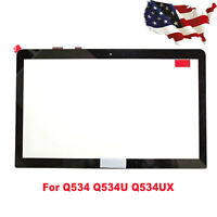"New Touch Screen Digitizer Glass for 15.6"" Asus Q534 Q534U Q534UX USA"