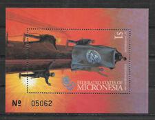 MICRONESIA , UN ,1995 , 50TH ANNIV. UN , SOUVENIR SHEET ,  PERF, MNH