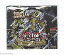 Yu-gi-oh Hidden Arsenal 6 Booster Box New Sealed English 1st Edition BNIB