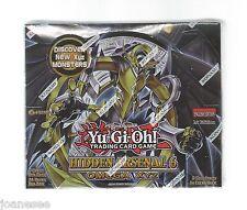 YU-GI-OH ARSENALE NASCOSTO 6 BOOSTER BOX NUOVO SIGILLATO IN INGLESE 1st Edizione Nuovo con Scatola