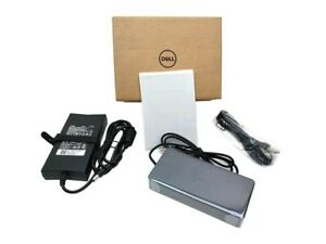 Dell D6000 USB-C USB 3.0 Docking Station 0M4TJG, Black