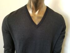 BRIONI Made in Italy Cashmere/Silk V Neck SWEATER - Size L