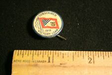Subscriber Victory Load 1918 Ww1 Canadian Pin
