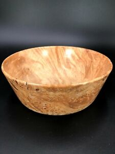 Handmade Wood Bowl - Maple Burl