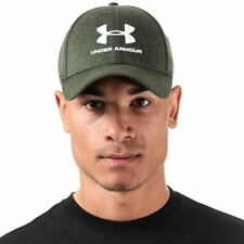 Accessories Mens Under Armour Twist Moisture Wicking Classic Fit Cap in Green