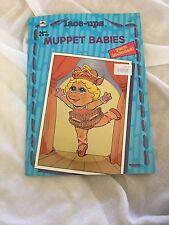 1992 Or- Dentelle Ups Muppet Babies- Bébé Miss Piggy #3776 Jim Henson Rare