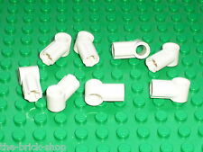 LEGO technic white Angle Connector ref 32013 /set 7658 10179 7692 9748 8008 8009