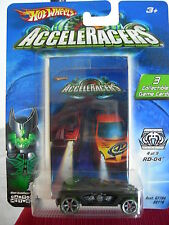 Hot Wheels AcceleRacers Racing Drones RD-04 4 of 9 w/collectible Game Cards!!