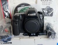 Canon EOS 6D 20.2MP Digital SLR Camera - Black (Body Only) - AS-IS for Parts