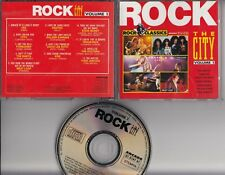 ROCK THE CITY Rock Classics CD Yes Toto  Kiss Vengeance Zinatra robbie valentine