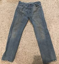 Levi's 501 LVC 501XX 33 x 33 Selvedge Big E 33x33 Levis Made in the USA