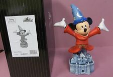 Disney GJS Grand Jester Studios DLR 60th Sorcerer Mickey on Castle Bust Figurine