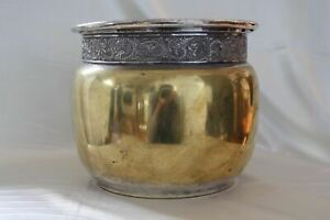 Antique 1890s USA America Silver Plated Pot Middletown Plate Co.