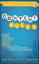 Content Rules: How to Create Killer Blogs, Podcasts, Videos, Ebooks, Webinars (