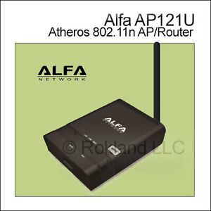 Alfa AP121U Atheros 802.11n WiFi AP/Router (USB model) - (this is not an R36A)