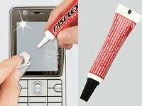 Efface rayure écran mobile NON Tactile Rénover plastique terne ou opaque POLISH