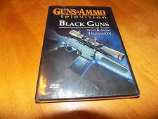 GUNS & AMMO BLACK GUNS Semi Auto Autos Firearms Guns Gun Shooting Rifle DVD NEW