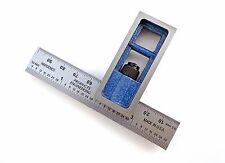 "Blem Cosmetic Second  Double Machinist Square PEC 4"" / 100 mm E/M mm/.5mm/32/64"