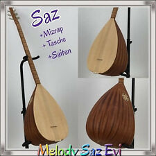 Saz Baglama/Tonabnehmer / uzun kol / Matt /mizrap/saz teli/ tembur Melody Saz