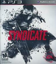 Syndicate PS3 Complete NM Play Station 3, video games
