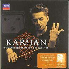 Herbert da/WP Karajan-Karajan the legendary Decca recordings 9 CD NUOVO