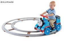 Kids Ride On Train w/ Track Thomas & Friends Toddlers Rail Road Set Railroad Toy