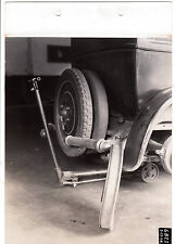 1928 vintage industrial photo Budd Mfg.Co. Phila.PA. car jack tires automotive