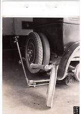 1928 vintage industrial photo Budd Mfg.Co. Phila.PA. car jack tires automotive