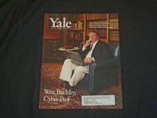 1997 DECEMBER YALE ALUMNI MAGAZINE - WILLIAM F. BUCKLEY JR. COVER - B 903