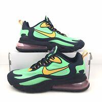 Nike Air Max 270 React Pop Art Electro Green Black Blue Men's Size 11 AO4971-300