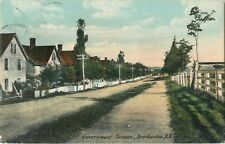 A View Of Homes On Government Terrace, Dorchester, New Brunswick NB Canada 1910