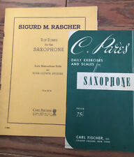 Sigurd M Rascher Top Toned For The saxophone + Daily Exercises And Scales 4 Sax