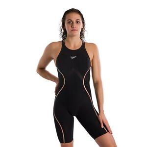 NEW — Womens 22 — Speedo Fastskin LZR Pure Intent — Open Back Kneeskin Tech Suit