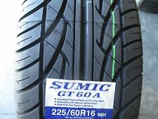 4 New 225/60R16 Sumic GT Tires  2256016 225 60 16 R16 60R