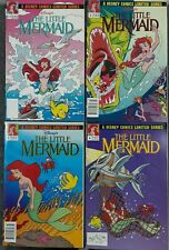 THE LITTLE MERMAID #1-4 Limited Series 1992 Disney Comic Books Near Mint