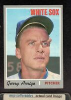 1970 Topps #274 Jerry Arrigo Chicago White Sox Baseball Card VG/EX+