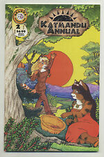 Katmandu Annual #2 2000 Anthropomorphics Corbett Peters Shanda Fantasy Arts w