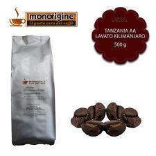 Caffè in Grani Tanzania AA Lavato Kilimanjaro 500 gr - Monorigine Arabica 100%