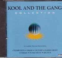 KOOL AND THE GANG - COLLECTION 18 TITRES 1996 - CD TBE