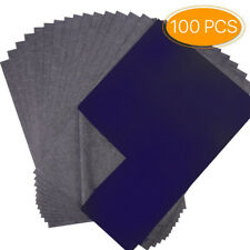 100 Sheets Carbon Paper Transfer Copy Graphite Tracing A4 Wood Canvas Art Paper