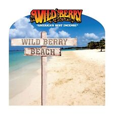 """30*Wildberry Incence hand dipped 11 """" sticks 17 Scents Wild Berry Beach Party"""